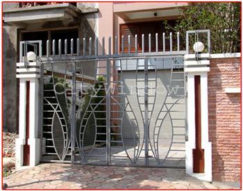 Mẫu cửa sắt - cổng sắt số 08