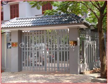 Mẫu cửa sắt - cổng sắt số 07