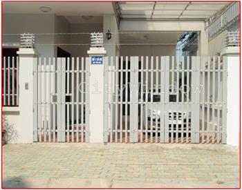 Mẫu cửa sắt - cổng sắt số 03