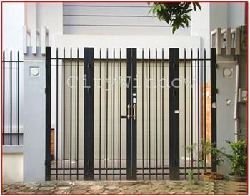 Mẫu cửa sắt - cổng sắt số 02