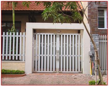 Mẫu cửa sắt - cổng sắt số 01