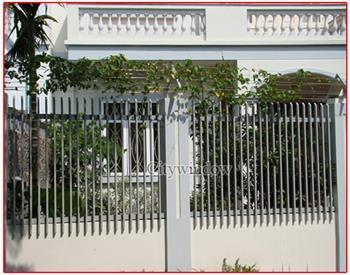 Mẫu hàng rào sắt số 40
