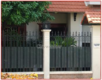 Mẫu hàng rào sắt số 33