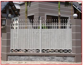 Mẫu hàng rào sắt số 28