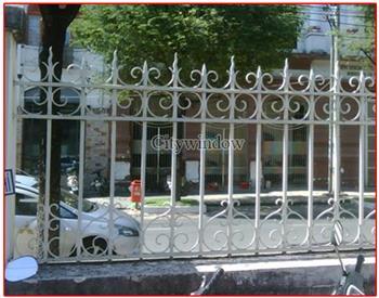 Mẫu hàng rào sắt số 25