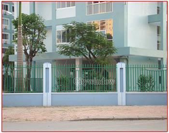 Mẫu hàng rào sắt số 24