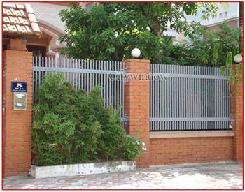 Mẫu hàng rào sắt số 17