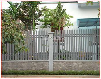 Mẫu hàng rào sắt số 16