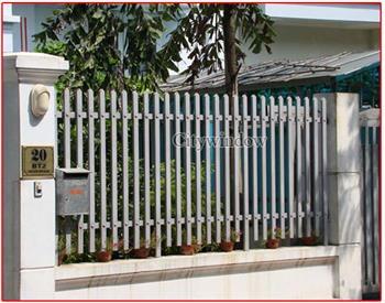 Mẫu hàng rào sắt số 07