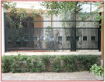 Mẫu hàng rào sắt số 01