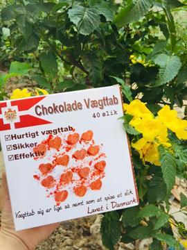 Kẹo Socola hỗ trợ giảm cân Đan Mạch 1 hộp 40 viên