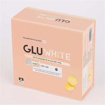Sủi trắng da Gluwhite - Giải pháp trắng da đột phá