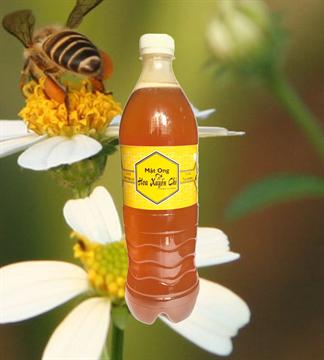 Mật ong cỏ kim(xuyến chi) chai 1 lít