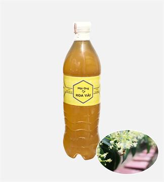 Mật ong hoa vải chai 1 lít