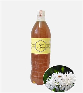 Mật ong hoa cà phê ( mật ong cafe) chai 1 lít