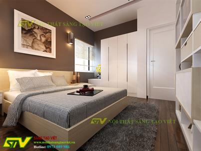 Thiết kế nội thất nhà phố ông Phạm Tiến Vĩnh Phúc