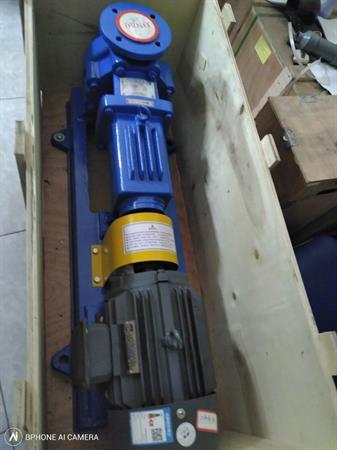 Bơm hóa chất lót nhựa IHF 40-25-125