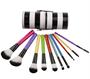 Bộ Cọ Trang Điểm 10 cây BH Cosmetics PCS Pop Art Brush Set