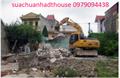 Bảng báo giá chi phí phá tháo dỡ nhà cũ, công trình ở Hà Nội
