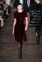 Thời trang nhung cực đẹp 2013