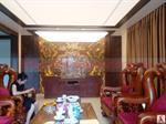 Thi công trần xuyên sáng tại biệt thự Huyền Villa tại Lào Cai