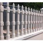 5 Mẫu tường rào bê tông đẹp cho kiến trúc biệt thự