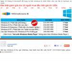 'Key' bản quyền Windows 8 được rao bán giá 100.000 đồng