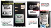 Cách phân biệt tem phụ kiện bộ đàm Motorola giả & thật