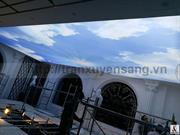 Dự án trần xuyên sáng biệt thự Tâm Villa - Trung Kính