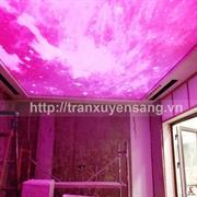 Thi công trần xuyên sáng tại nhà chị Phương - vinhome Long Biên