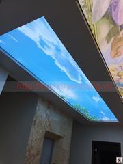 Công trình thi công trần xuyên sáng tại phòng khách gia đình Anh Tuấn - Hải Phòng