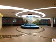 Thi công trần xuyên sáng tại tầng hầm Spa - Khu Resort cao cấp Flamingo - Đại Lải