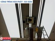 Công trình trần xuyên sáng tại Tập đoàn Hòa Phát Sài Gòn