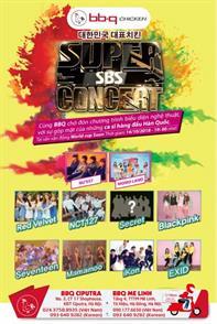 HOT- Chương trình biểu diễn Nghệ thuật với sự góp mặt của những ca sĩ hàng đầu Hàn Quốc tổ chức bởi tập đoàn Genesis BBQ