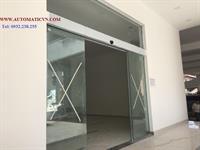 Lắp cửa tự động Lê Văn Lương _HN