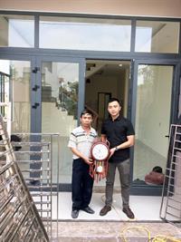 DCWINDOW bàn giao công trình nhà chú Sơn-Trần Lê- Cẩm Lệ- Đà Nẵng