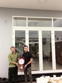 DCWINDOW bàn giao công trình cửa nhôm xingfa nhà anh Bình - Hòa Xuân - Cẩm Lệ - Đà Nẵng