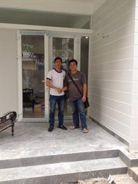 DCWINDOW bàn giao công trình cửa nhựa lõi thép cao cấp nhà anh Vinh kiệt số 06 Duy Tân - Đà Nẵng