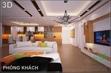 Thiết kế và thi công nội thất chung cư N04 B1 Dịch Vọng - Căn 401- 403