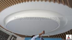 Dự án thi công trần xuyên sáng tại nhà máy KIDO - Bắc Ninh
