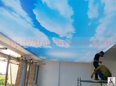 Dự án trần xuyên sáng tại biệt thự Tuyên Quang