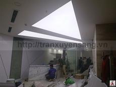Dự án trần xuyên sáng phòng khám nha khoa 85 - Bùi Thị xuân