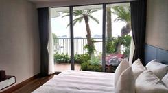 Hình ảnh thực tế nhà mẫu khu nghỉ dưỡng Flamingo Cát Bà Beach Resort