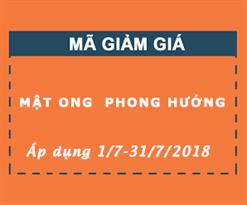 MẬT ONG PHONG HƯỞNG TRI ÂN KHÁCH HÀNG - TẶNG MÃ VOCHER KHUYỄN MẠI