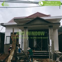 Cửa nhôm xingfa công trình anh Nhật, khu dân cư Hoàng Văn Thái, Đà Nẵng