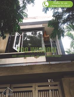 Công trình cửa nhôm xingfa tại Đà Nẵng, Chị Tâm, 15 Mẹ Hiền, Thanh Khê, Đà Nẵng