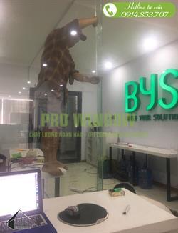 Vách ngăn kính cường lực tại đà nẵng, vách ngăn văn phòng BYS-build your solution, 363 Nguyễn Hữu Thọ