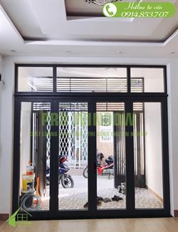 Công trình cửa nhôm xingfa ở Đà Nẵng, nhà anh Vũ, Điện Biên Phủ, Đà Nẵng