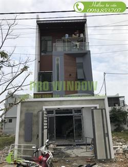 Công trình cửa nhôm xingfa đẹp ở Đà Nẵng, anh Tuấn, Hòa Xuân, Cẩm Lệ, Đà Nẵng