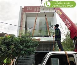 Cửa nhôm xingfa nhà anh Tuấn, An Thượng 15, Đà Nẵng